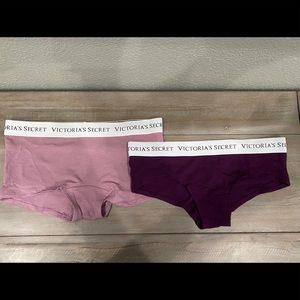 New (2) Victoria Secret Panties Sz Small